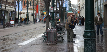 Calgary street musician