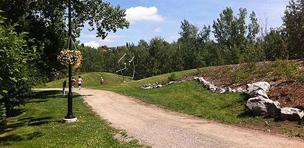 Summer Jogging Path